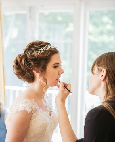 hair and makeup by kirsten, photographer Shelby Ellis