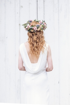 hair by me Kirsten; photographer www.photographybykirsty.co.uk Flower crown www.lilac-and-lace.co.uk wedding dress www.matchimony.co.uk